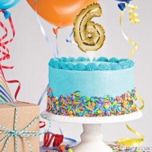 Ballons pour gâteaux